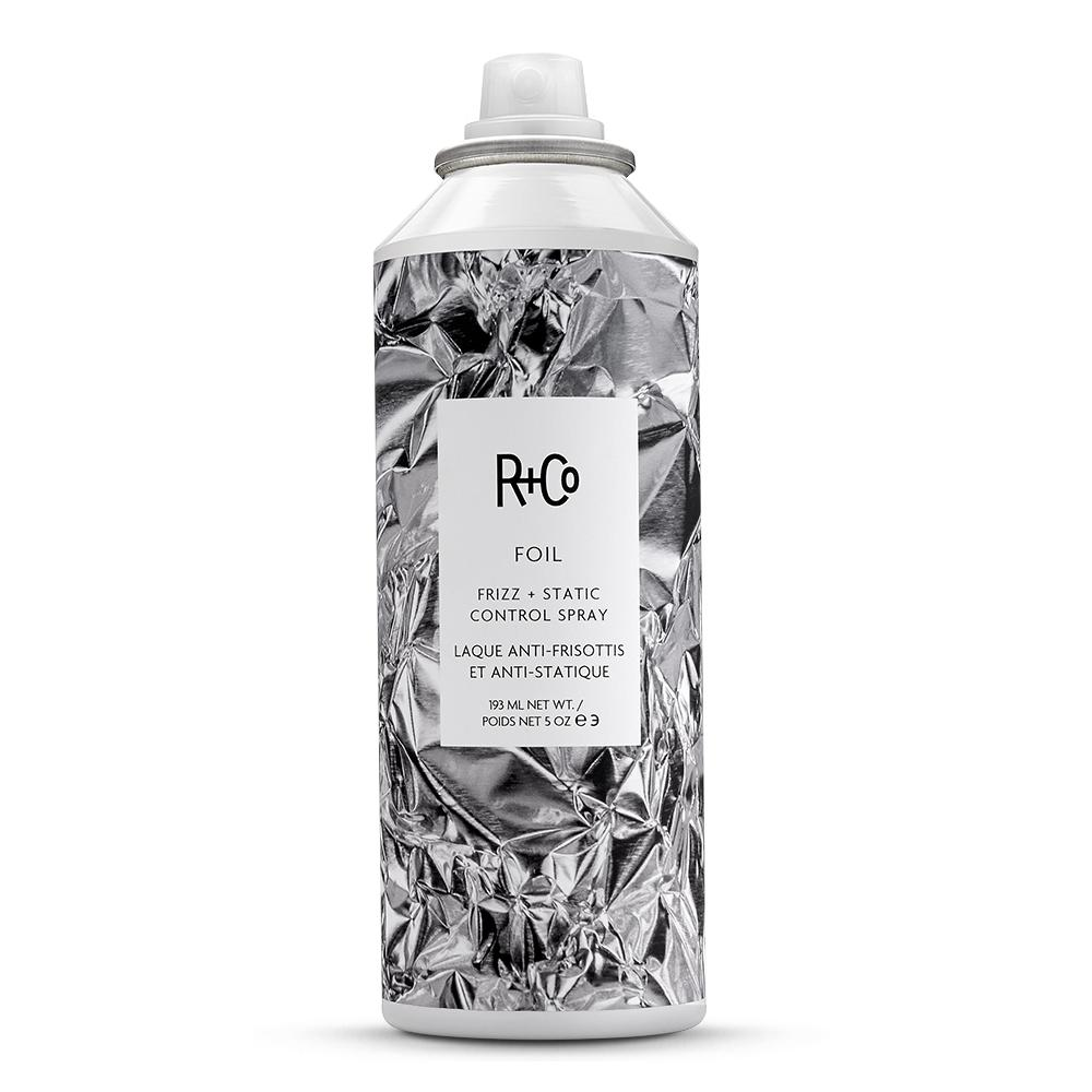 "FOIL Frizz + Static Control Spray: ""Gives hair body and shine!"""