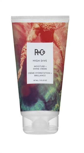 "HIGH DIVE Moisture + Shine Creme: ""One of my favs! A lot of hair products over power one over the other, but High Dive stays true leaving hair both moisturized and shiny!"""