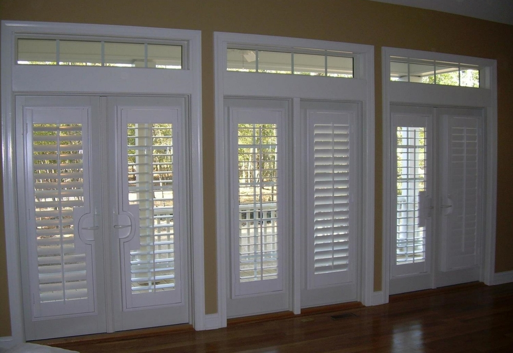 Plantation Shutters Designed For Doors And Sidelights Heritage