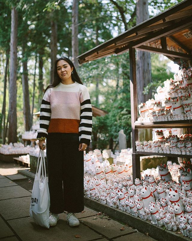 🏮🐱CATSONCATSONCATS —  New post on SydBaylon.com that starts with white gloved workers stuffing people on the subway 🚇 getting lost in a district that became one of my favorites of the trip and hellllllla cats at a beautiful temple :)))))) . . . . #portra400 #35mm #filmphotographic #filmwave #tokyo #japan #gotokujitemple #heyfsc #filmcameratokyo