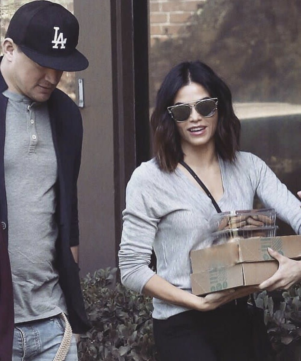 Jenna Dewan-Tatum wearing 'LIQUID'.
