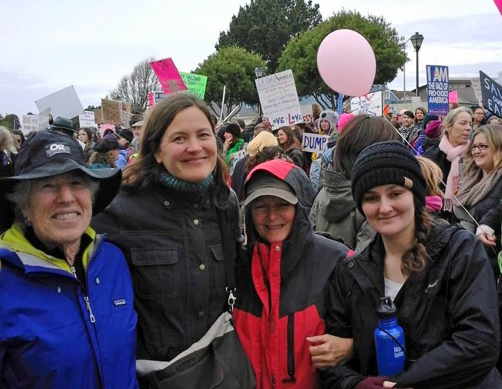 Eureka Women's March Bob Doran photo