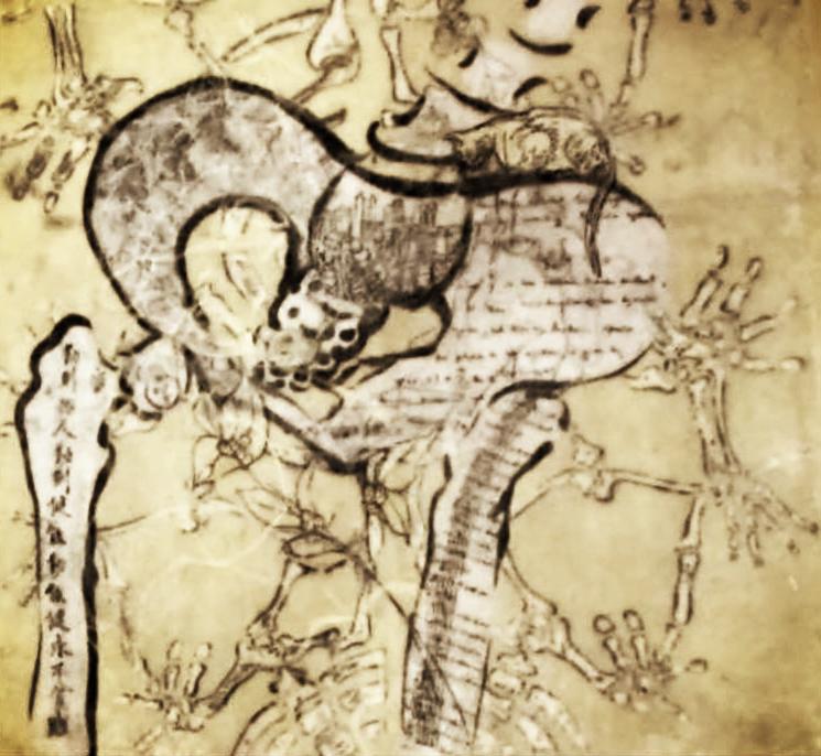 encaustic collage