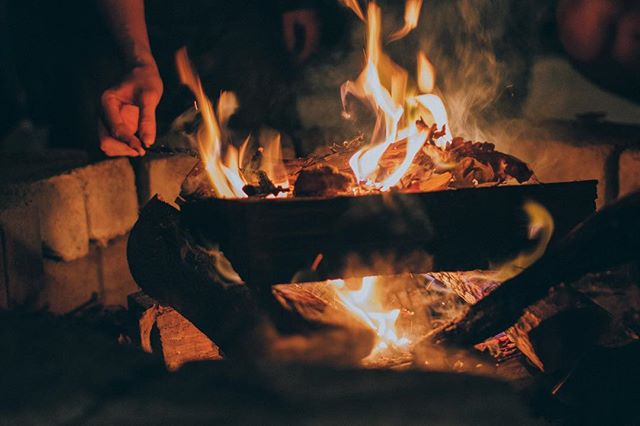 Gathering around a campfire is one of our favorite things about van camping. What's yours?