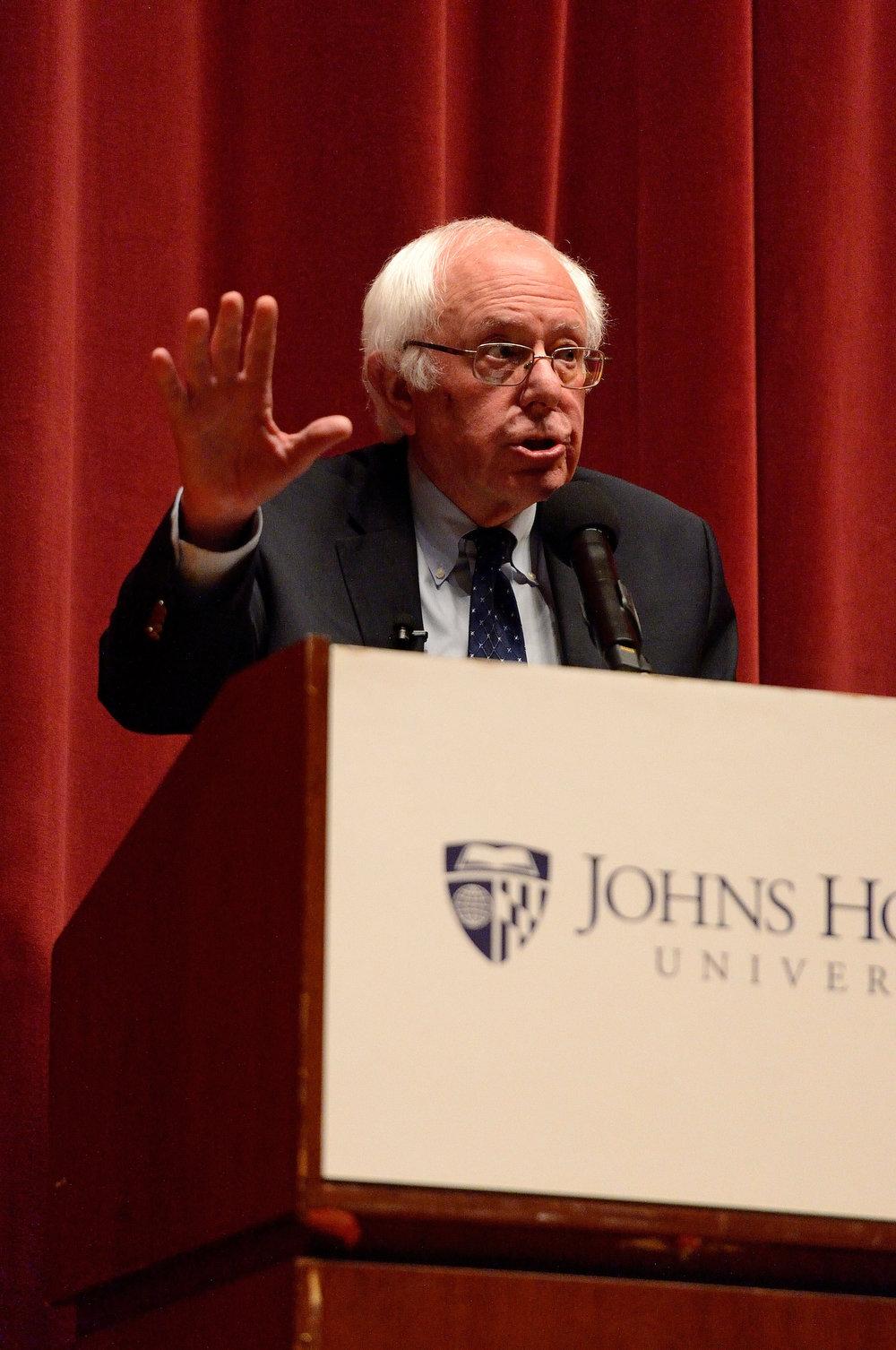 Bernie Sanders, 2016