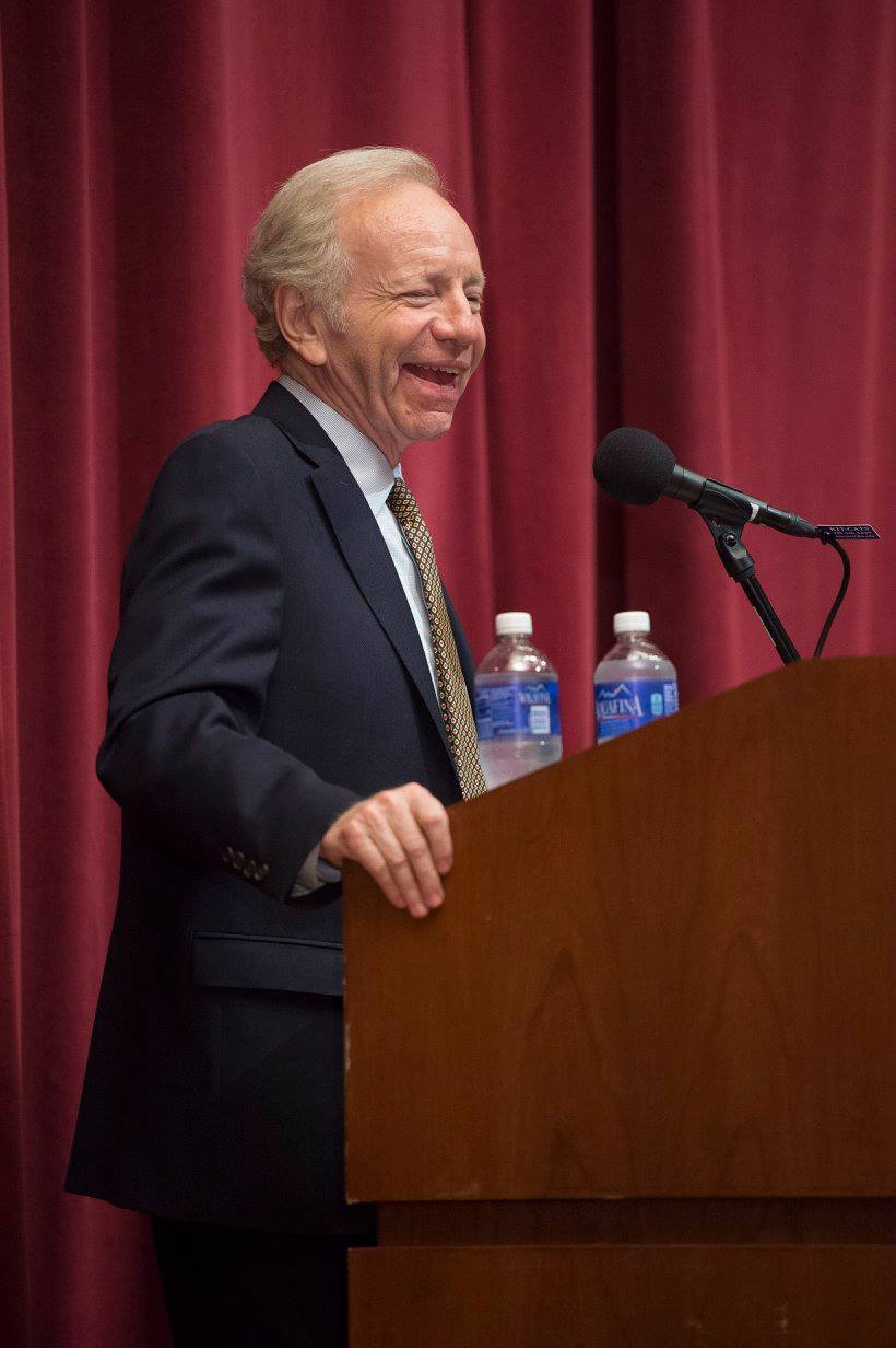 Joe Lieberman, 2015
