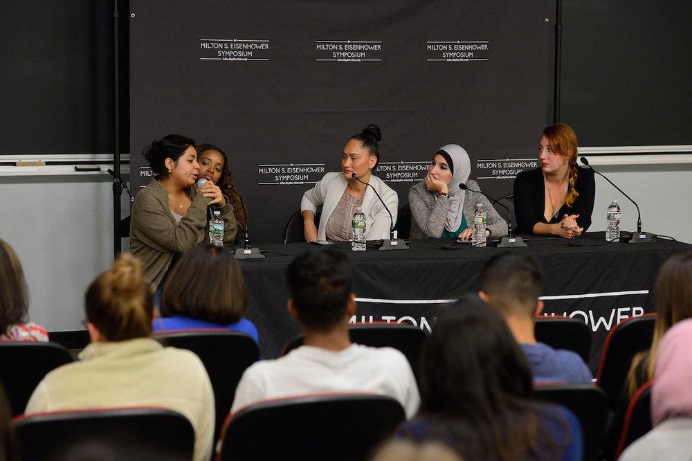 Tamika Mallory, Carmen Perez, Linda Sarsour, and Bob Bland, 2017
