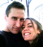 Michael Glatze and wife