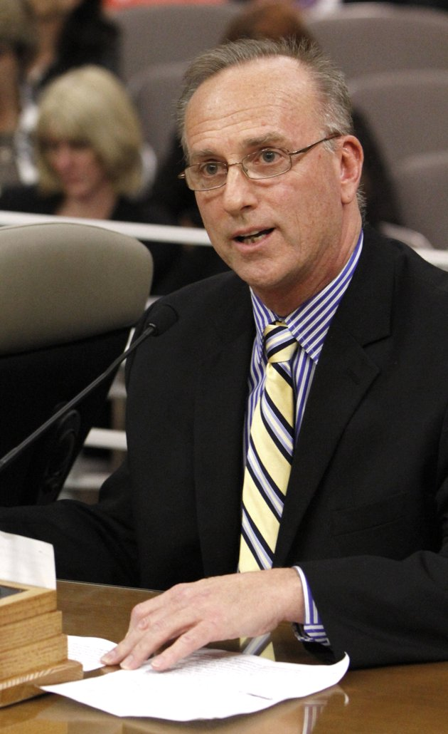 Testifying Before a State Legislature: David Pickup, LMFT