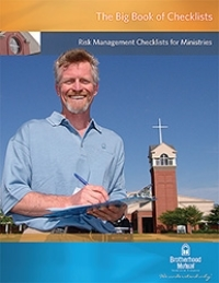 Checklists to help keep your church safe