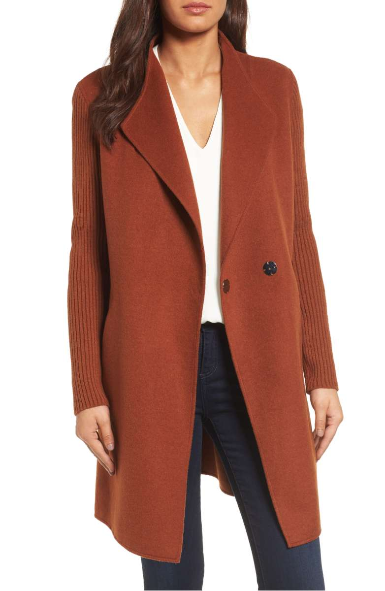 Sale: $129.90 - Kenneth Cole Double Face Coat