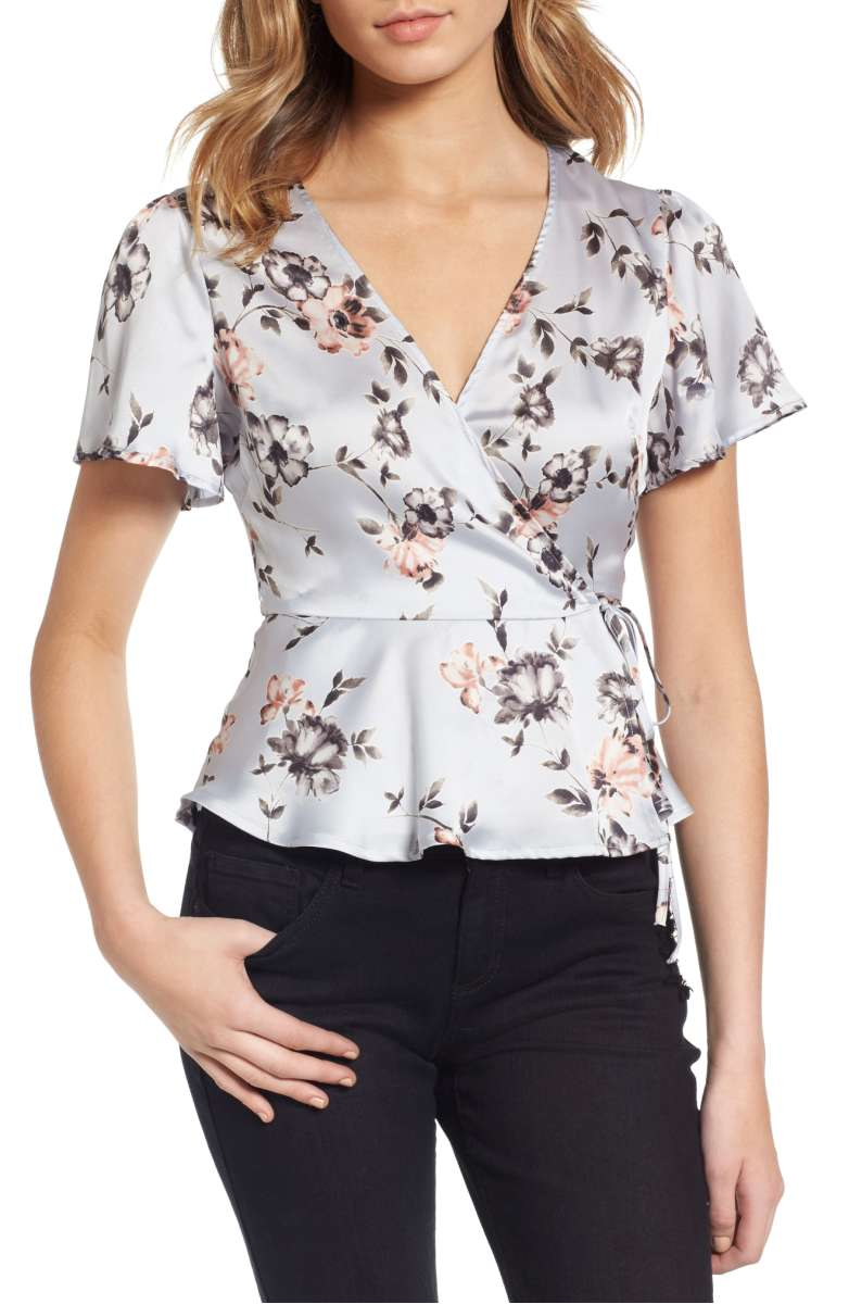 Sale: $42.90 - ASTR Wrap Top