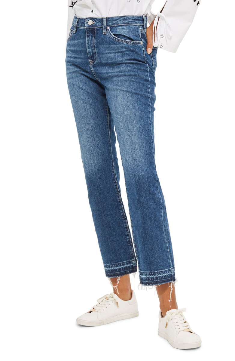 Sale: $49.90 - Released Hem Flare Jean
