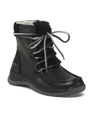 Leather Waterproof Boot - $79.99