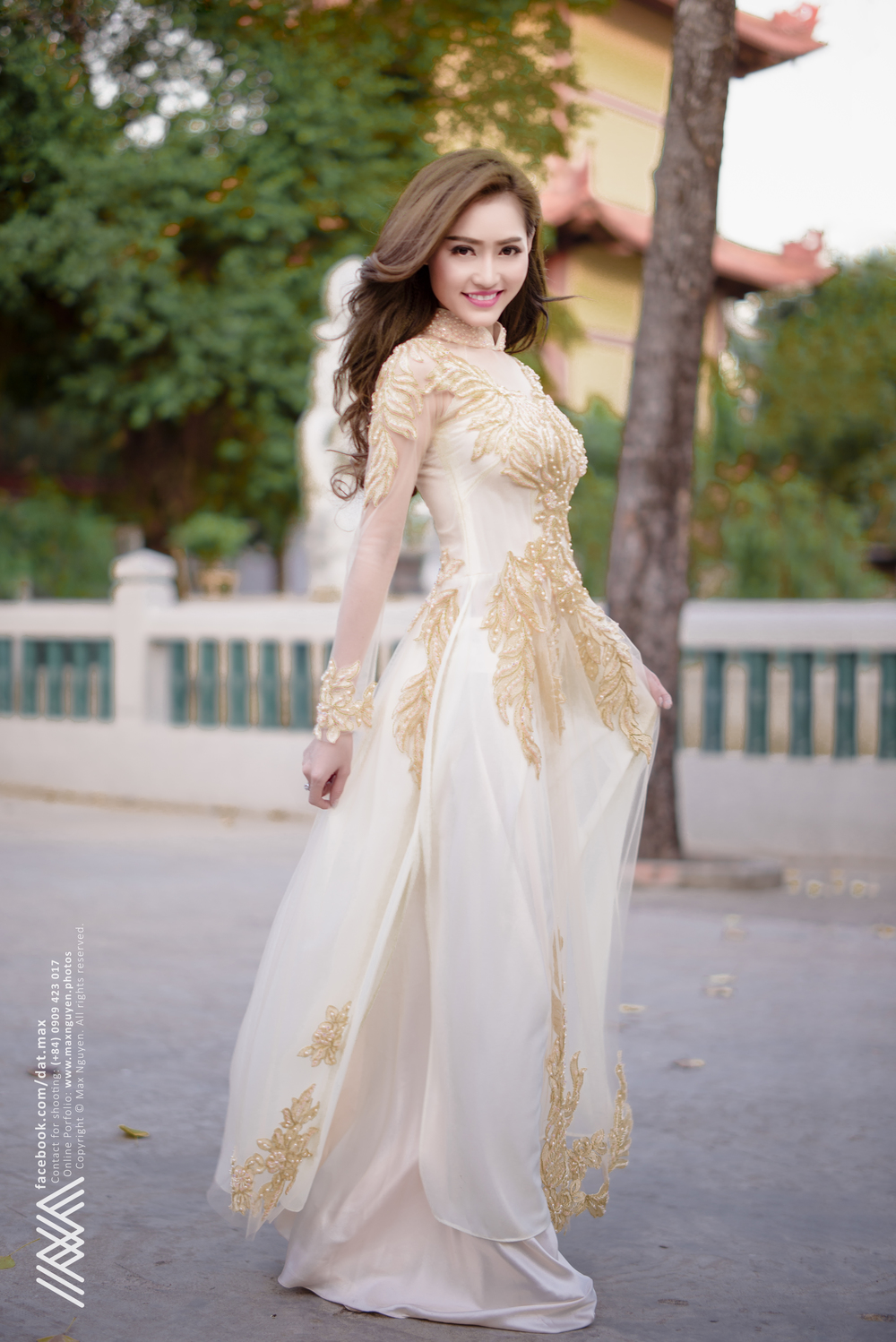 Vietnamese Long Dress - Ngoc Ha — MAX NGUYEN