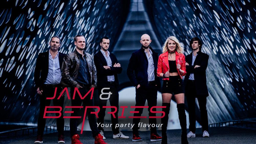 Jam & Berries coverband