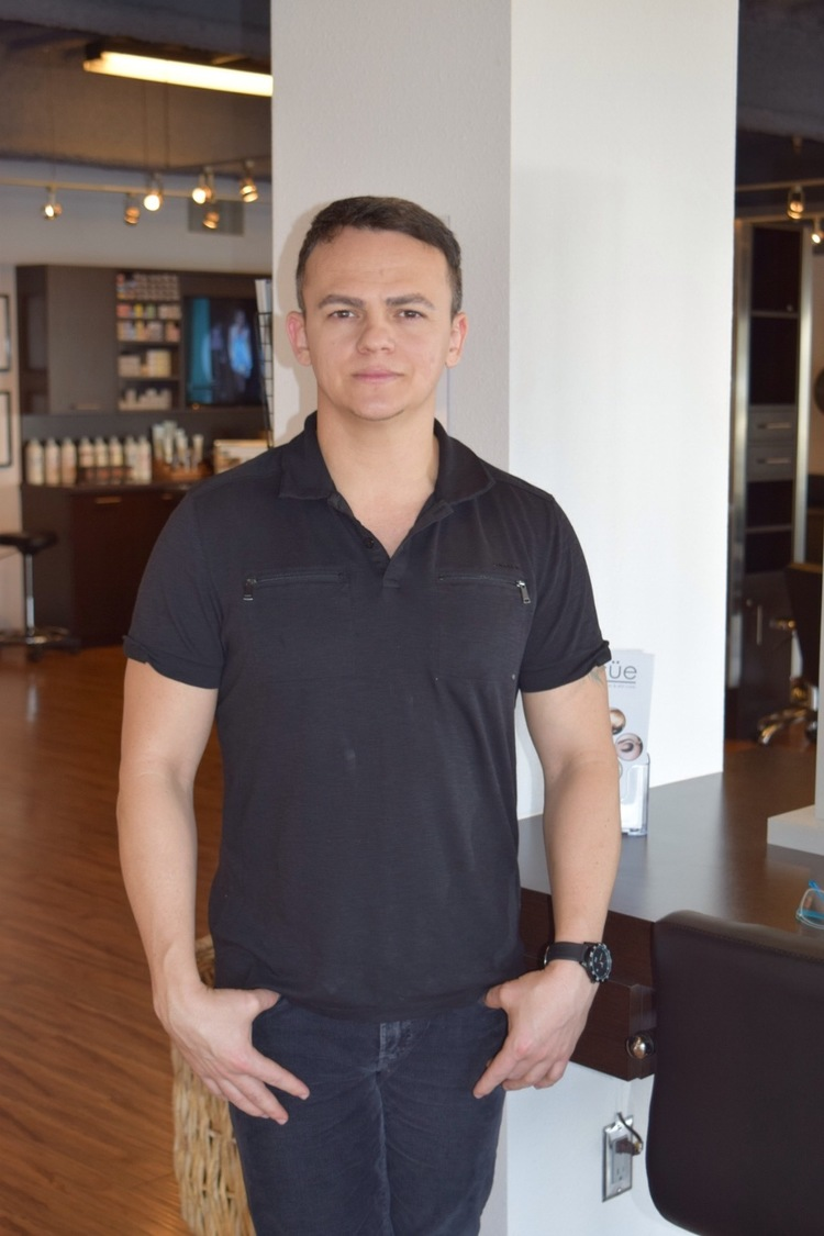 Dennis Silva Microblading Specialist /Master Colorist & Stylist • 12 years experience. (Extensive training at Vidal Sassoon Academy. Extensive training in Sao Paulo, Brazil on master color. ) • Specializes in Balayage, Hair Painting, Highlights, Men's Haircut and styling.