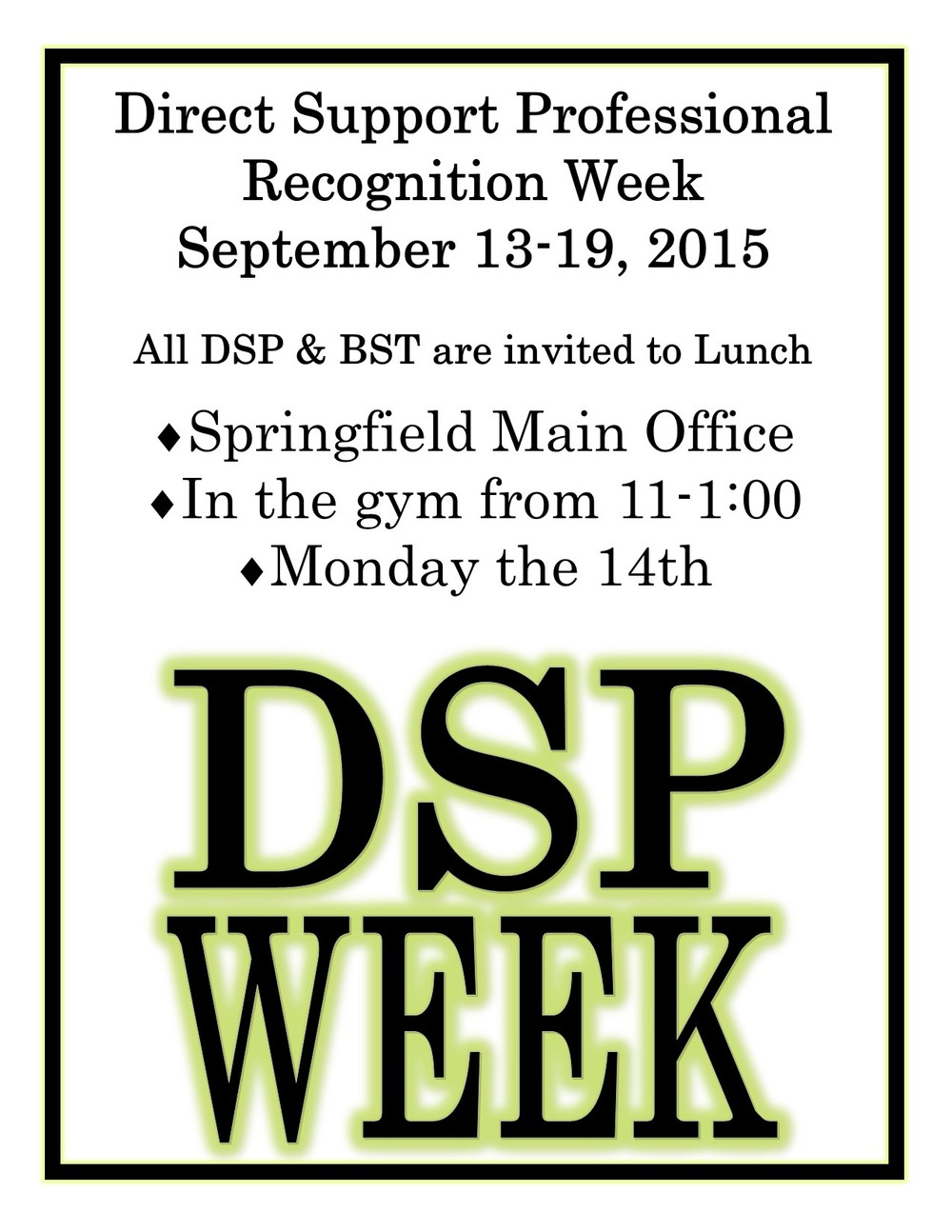 Dsp appreciation week september 13th 19th the arc of the ozarks dsp appreciation week september 13th 19th the arc of the ozarks springfield mo 1betcityfo Image collections
