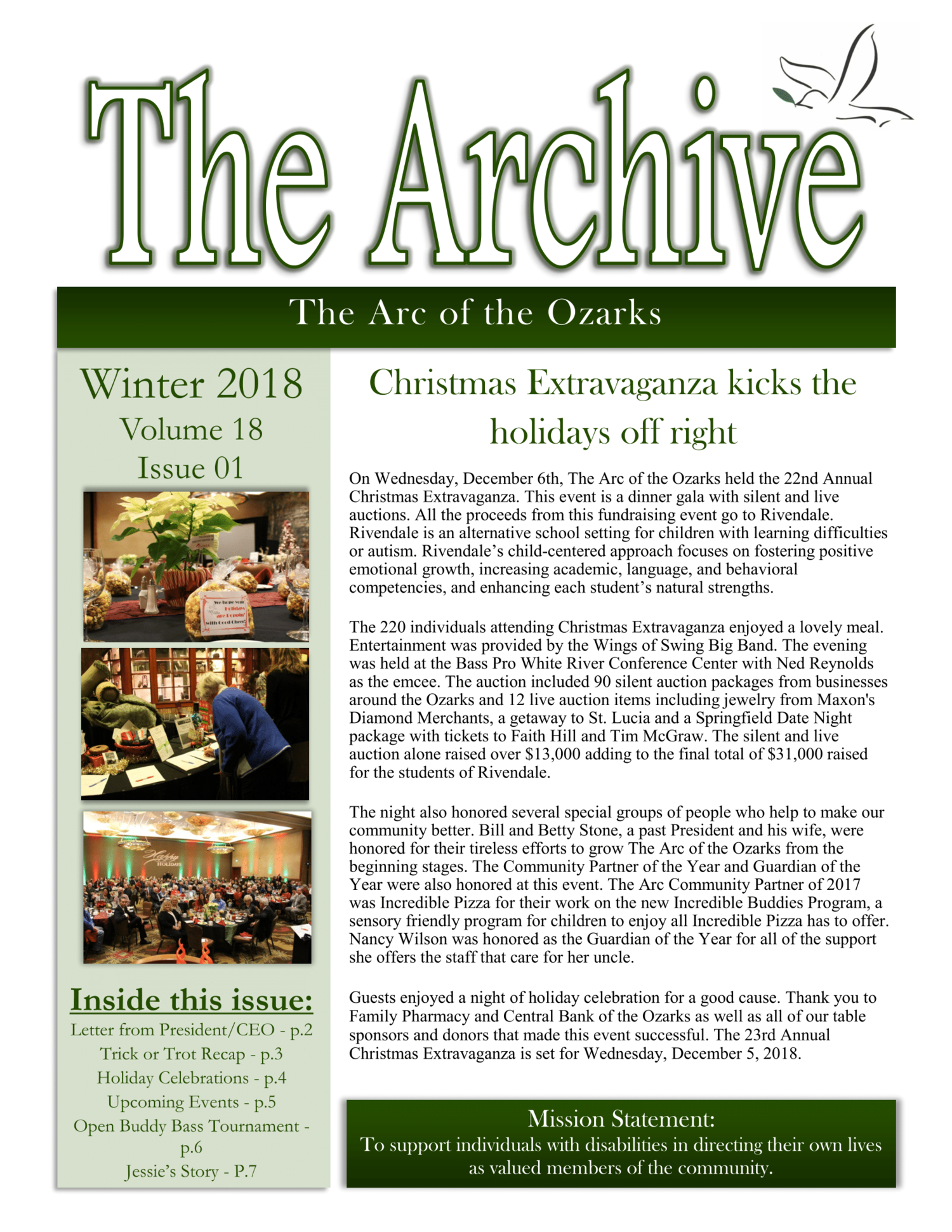 The Archive Winter 2018 — The Arc of the Ozarks