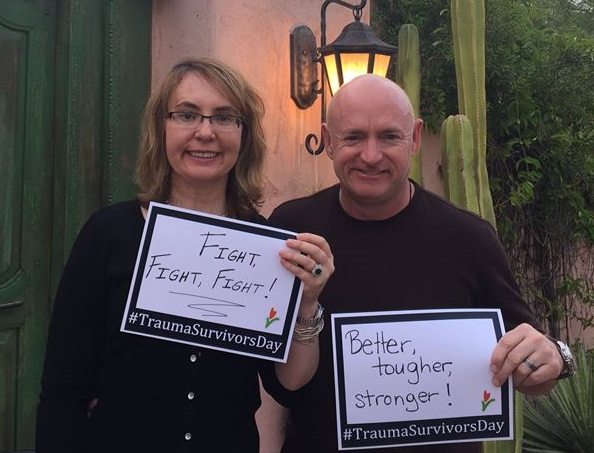 Better, stronger tougher: Gabby Giffords and Mark Kelly