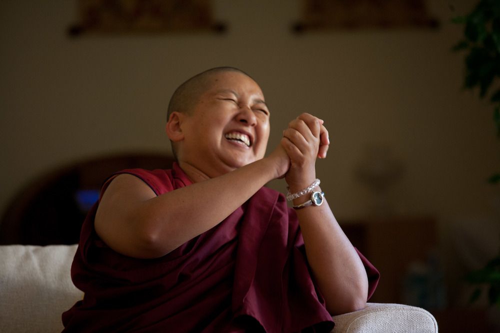 Khandro Rinpoche ©Volker Dencks