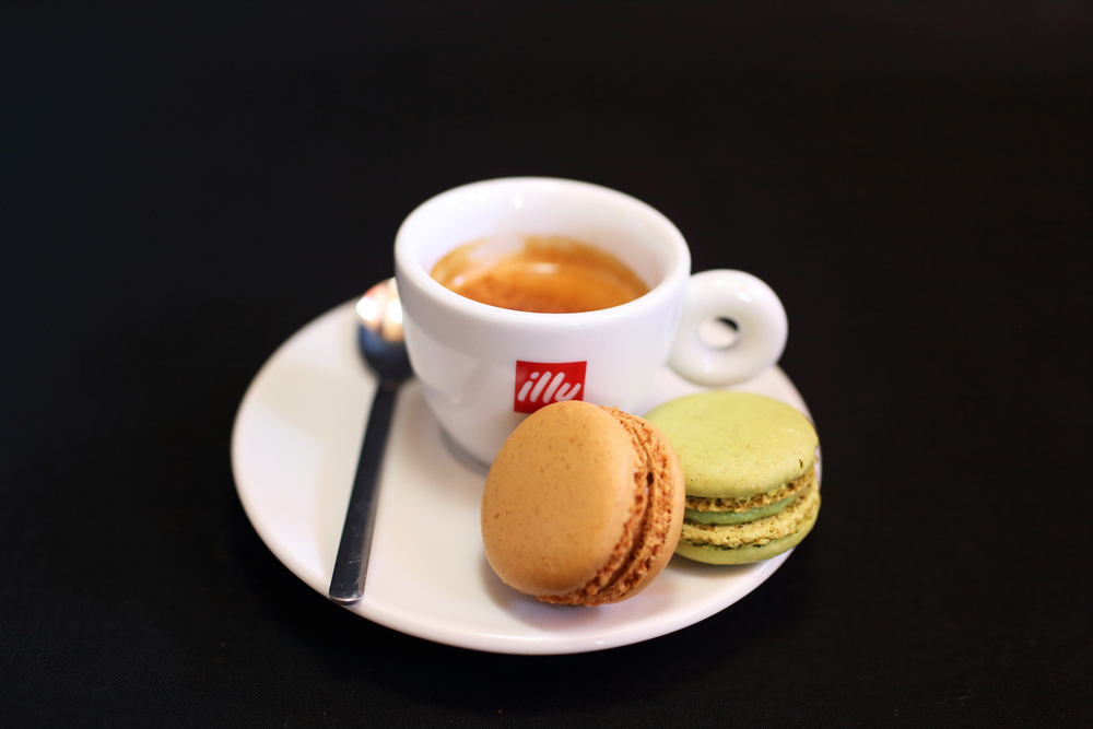 Illy Coffee And French Macaroons - Angry Moon Cafe, Palm Beach Gardens FL 33410