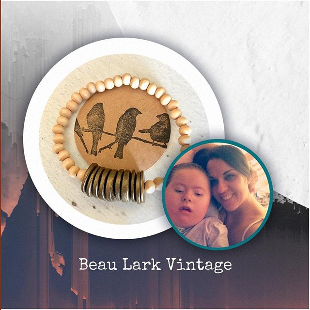 "Company with an amazing mission alert! I came across @beaularkvintage and just had to share. + Larkin (left) is a 13-year-old with Down Syndrome and Spinal Muscular Atrophy type 1. Her mom, Gina Bish (right), didn't realize she had either until she was born. The doctors said she would live until just 2- to 4-years old, but she just celebrated her first official teenage birthday—and is full of life! + Bish is looking to move into a home where she can better care for Larkin and, to raise the money, is making and selling bracelets. Her goal: to sell 1,000 of her fun pieces. ""Every penny received will go into a savings account for a down payment,"" Bish says. + Some of the bracelets would make for a perfect young girl's birthday present, and some I'd like to keep for myself. If you are in the market for some bracelets or gifts, look here first—it would mean so much to this family. #letsmakeadifference #choosejoy #amidstlife . . . . #beaularkvintage #jewelrymaker #etsyshopping #braceletoftheday #maketodaycount #yougotthis #getbackup #inspirationalwords #positivemindset #mindsetiseverything #positivethoughts #darlingmoment #darlingdaily #alliseeispretty #insearchofjoy #myeverydaymagic #shinyhappybloggers #blogandbeyond #styledaily #stylebook #fashionlooks #fashiongrammar #fashionposts #liveonpurpose #joyinthejourney #madeformore #lifebydesign"
