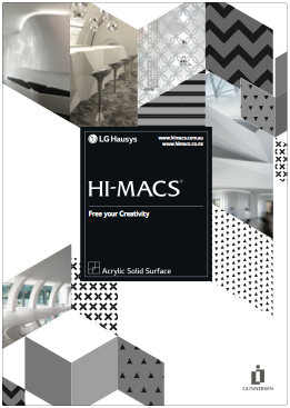 View HI-MACS Reference Book