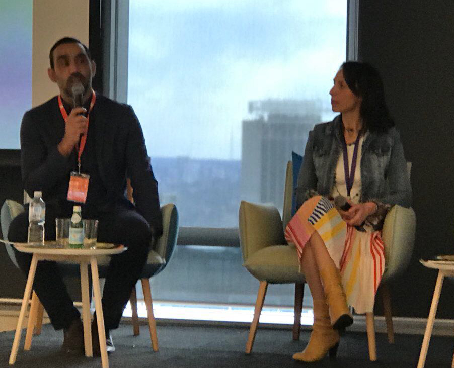 Discussion Panel with Adam Goodes and Lisa Sarzin