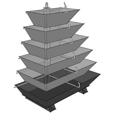 vertical garden DIY kit-Cascade