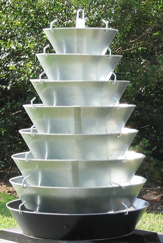 diy tower kits eden now instant vertical gardens. Black Bedroom Furniture Sets. Home Design Ideas