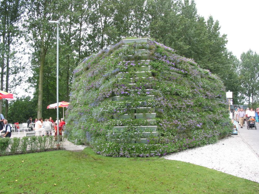 vertical garden-custom greenwall