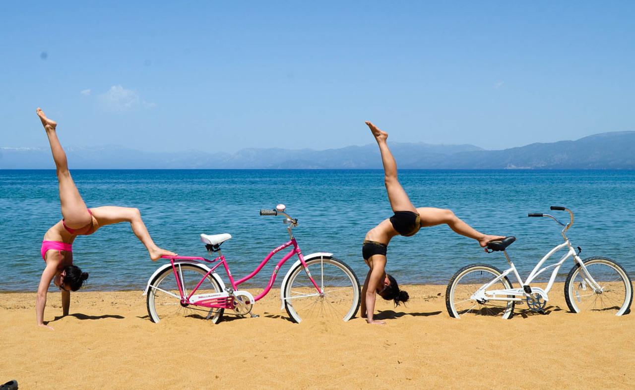 Things I Love:Beach Cruisers,Warm Sunny Days,Yoga