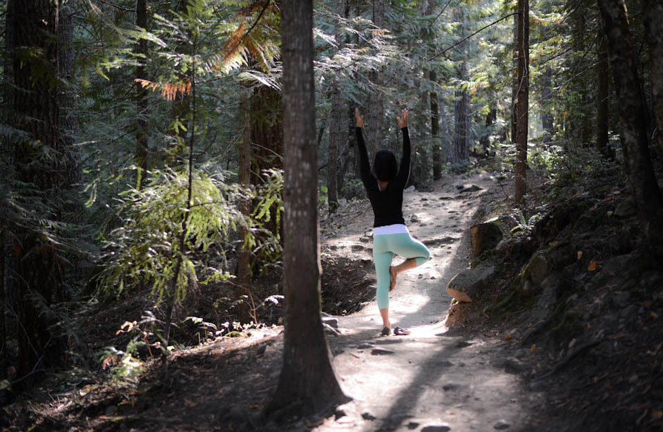Forest yoga is the best yoga