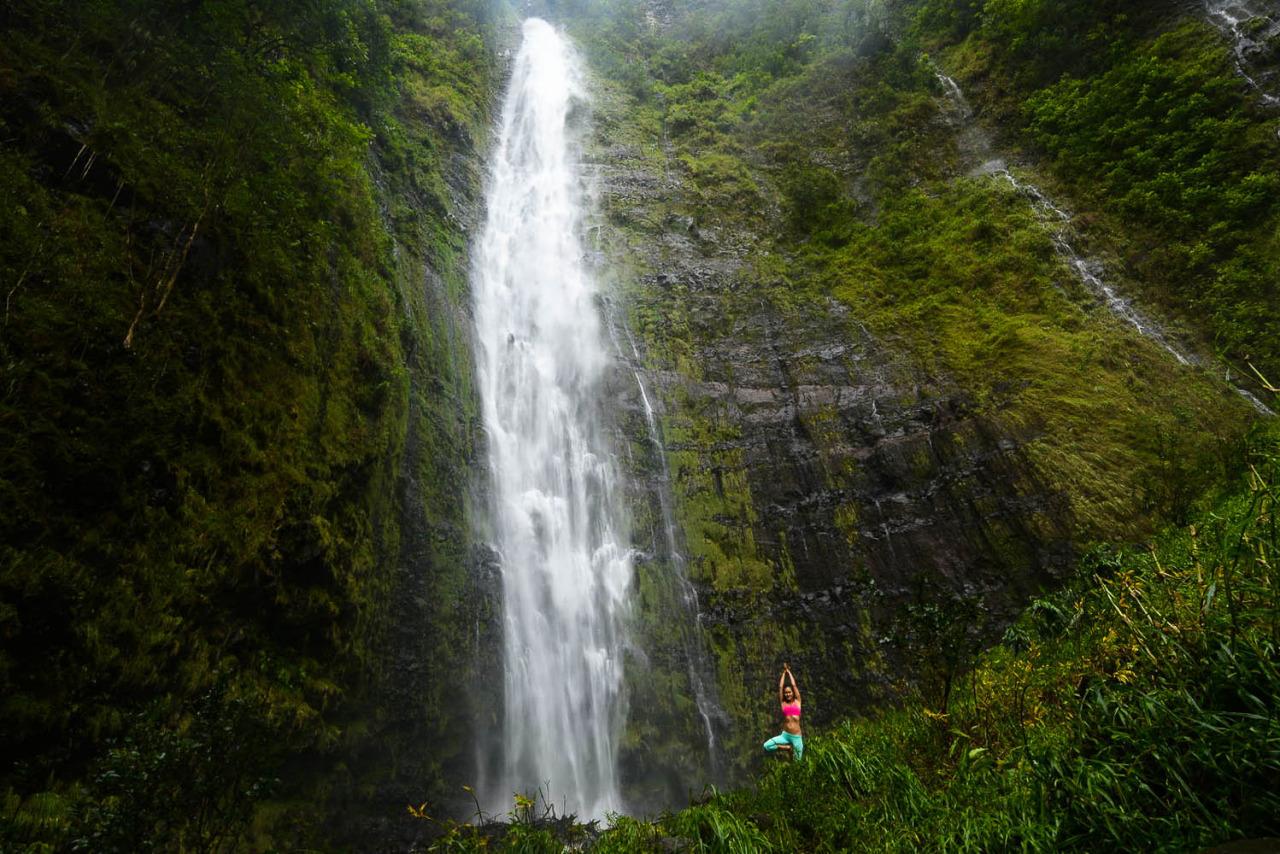 Waimoku Falls |Pipiwai Trail | Haleakalā National Park | Hāna | Maui | Hawaii