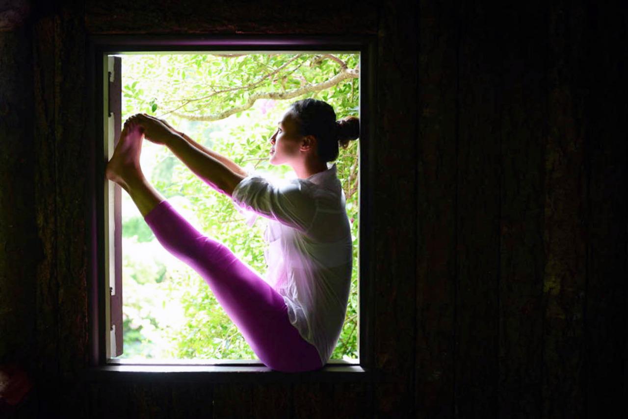 Ubhaya Padangusthasana - Both big toe posture    http://www.facebook.com/CamilliaLeeYoga