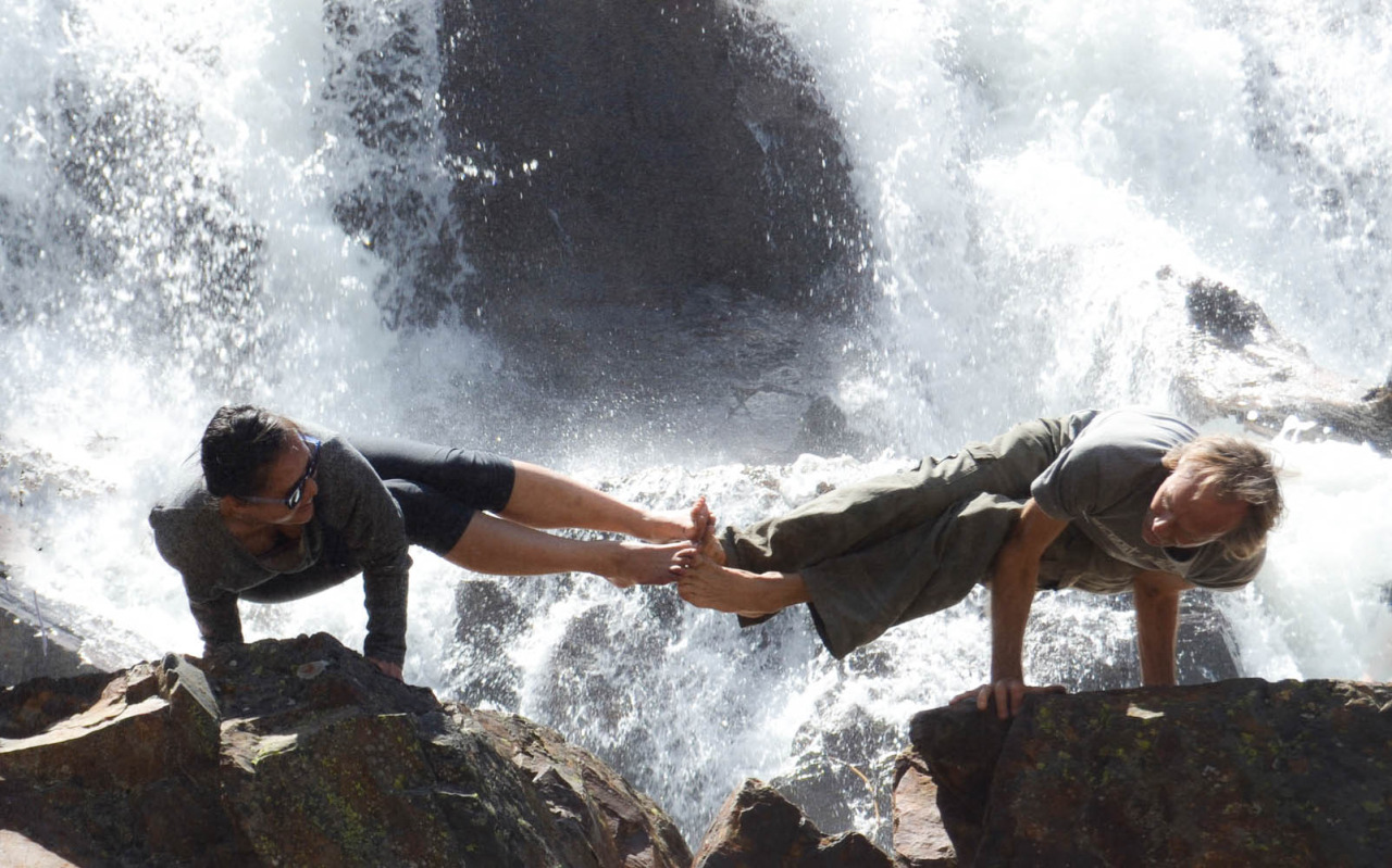 True Toe-mates   Dwi Pada Koundinyasana with Doug Swenson     http://www.facebook.com/CamilliaLeeYoga