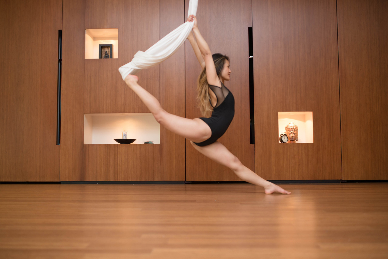 Leave your fears behind    AntiGravity Yoga