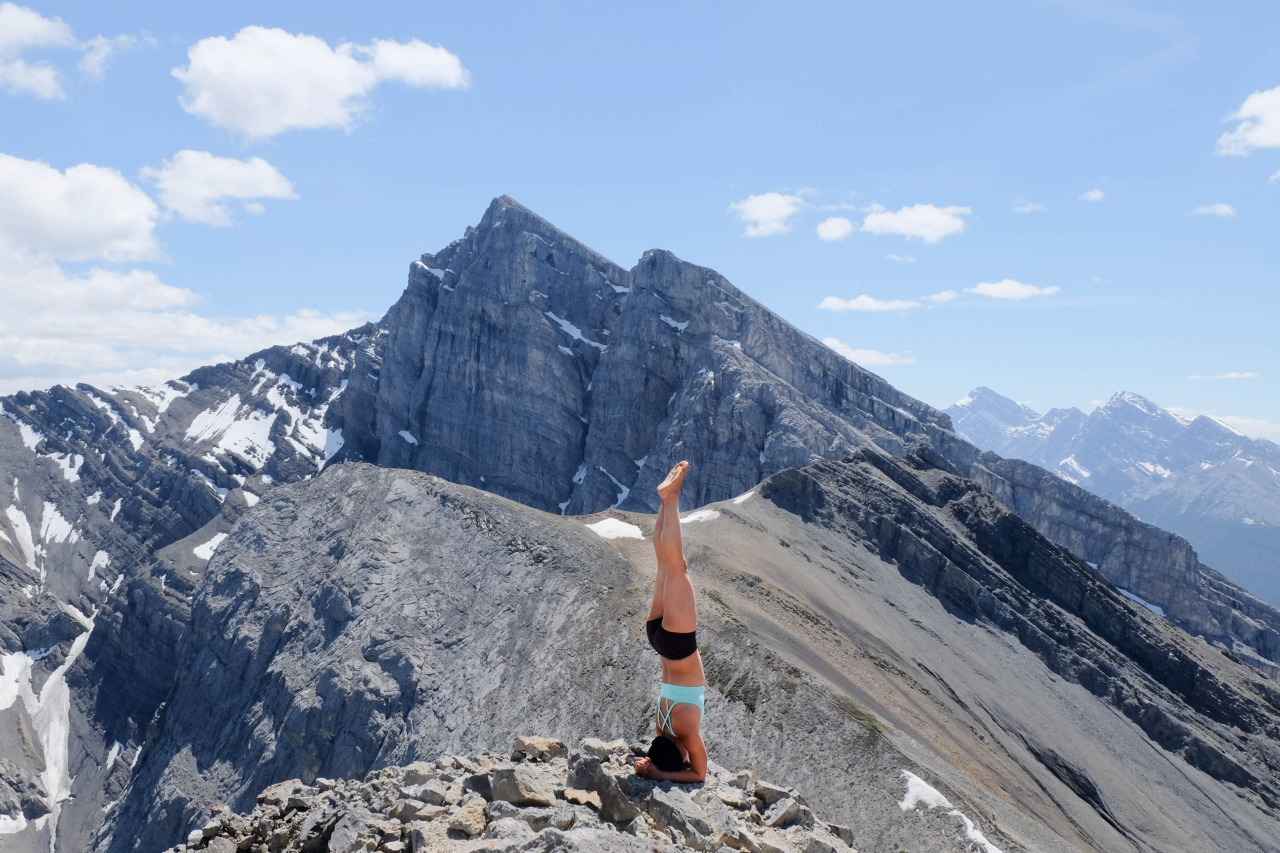 The mountains are calling and I must go - John Muir     Ha Ling Peak -   Mount Lawrence Grassi Canmore, Alberta     Facebook.com/CamLeeYoga
