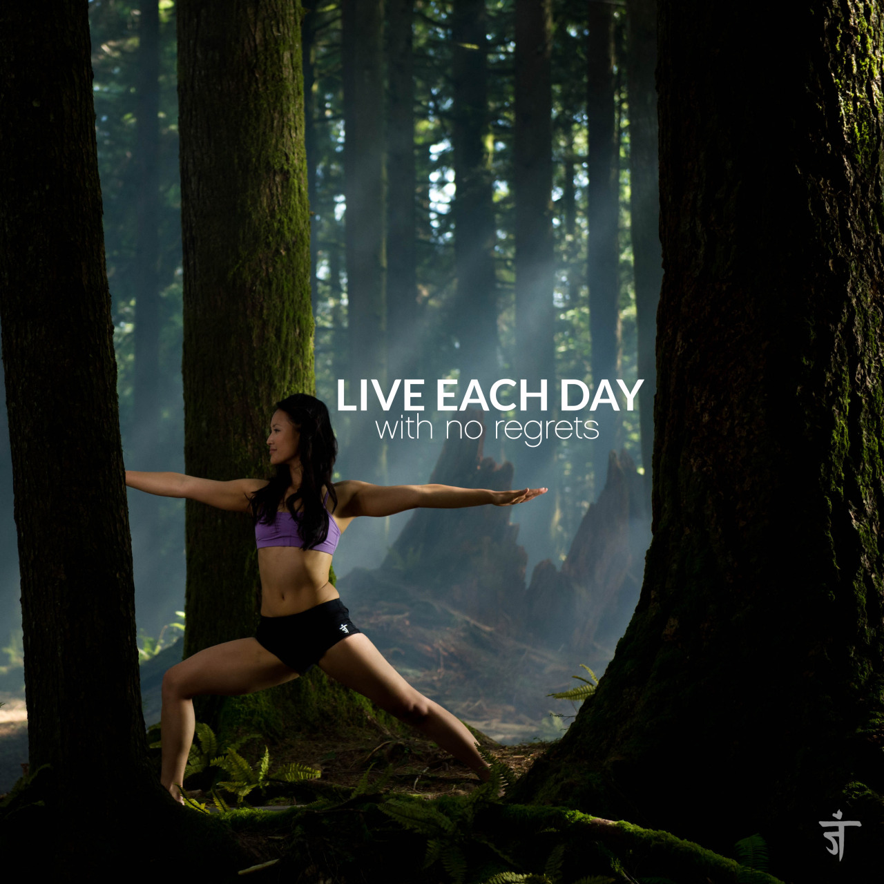 Live each day with no regrets   Warrior II | Virabhadrasana II   Vancouver | British Columbia | Canada     Namaste TV  | Namaste Yoga | Season 3