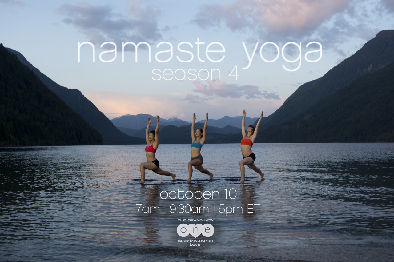 Yay - Season 4 will be airing tomorrow on The Brand New ONE at 7am, 9:30am and 5pm.   Airing everyday, find the schedule on   http://www.onebodymindspiritlove.com/shows/namaste/