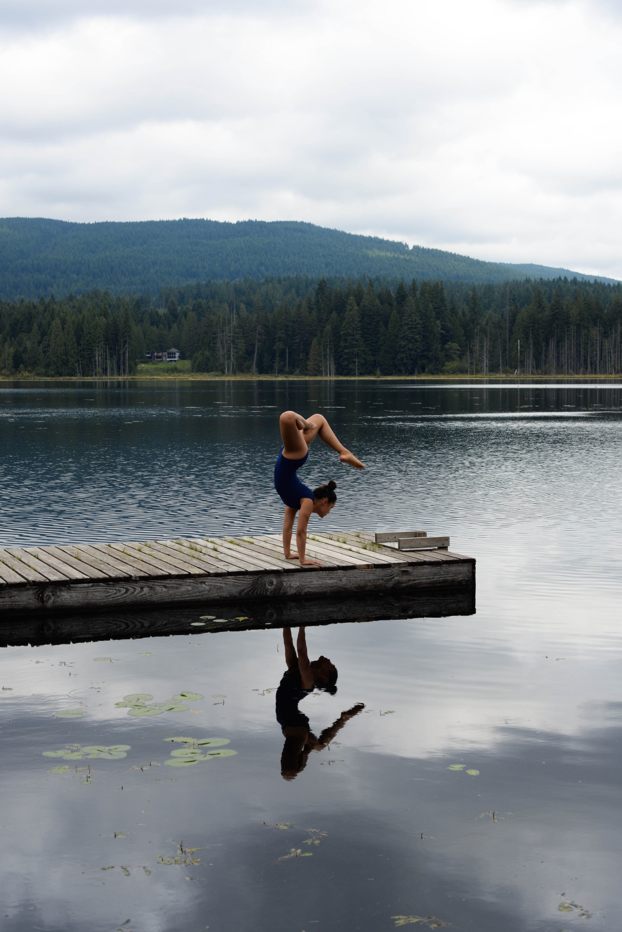 Adho Mukha Vrksasana | Handstand   Whonnock Lake | Maple Ridge | British Columbia | Canada