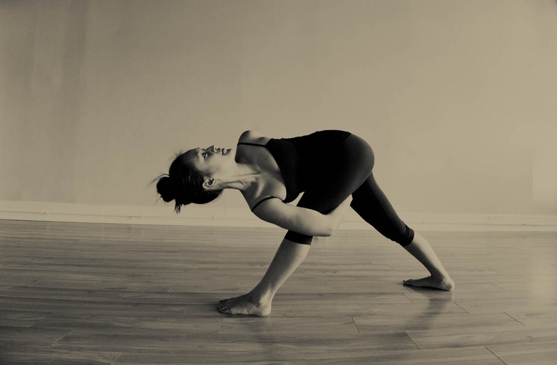 Baddha Parivrtta Trikonasana - Bound Revolved Triangle Pose