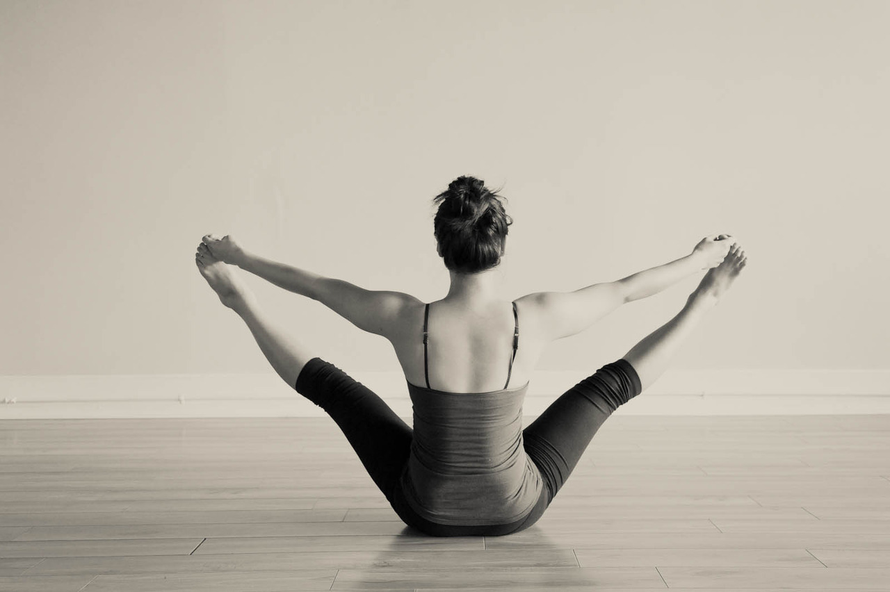 Upavistha Konasana - Seated Angle Pose
