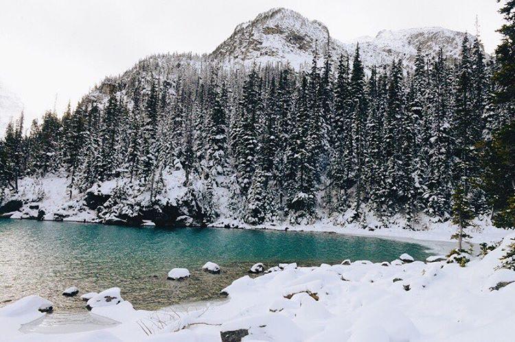 Winter Wonderland #snow #joffrelake #explorebc (at Joffre Lakes)