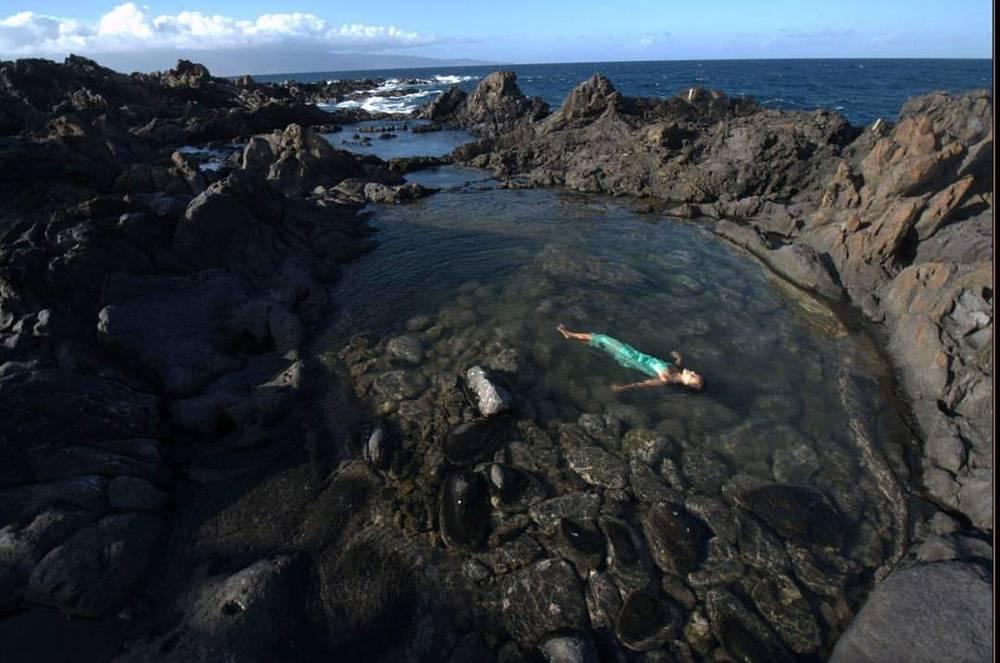 Lava pools #lava #maui Hawaii #pool