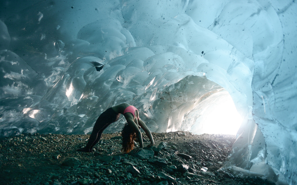 Ice Cave under Kennicott Glacier | Wrangell-St. Elias National Park | Alaska | United States  Photographed by Kirk Peter Sweet   Instagram  |  Facebook  |  Twitter