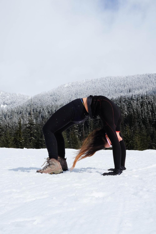 Urdhva Dhanurasana | Upward Bow | Wheel Pose  Callaghan Valley | Whistler | British Columbia | Canada   Instagram  |  Facebook  |  Twitter
