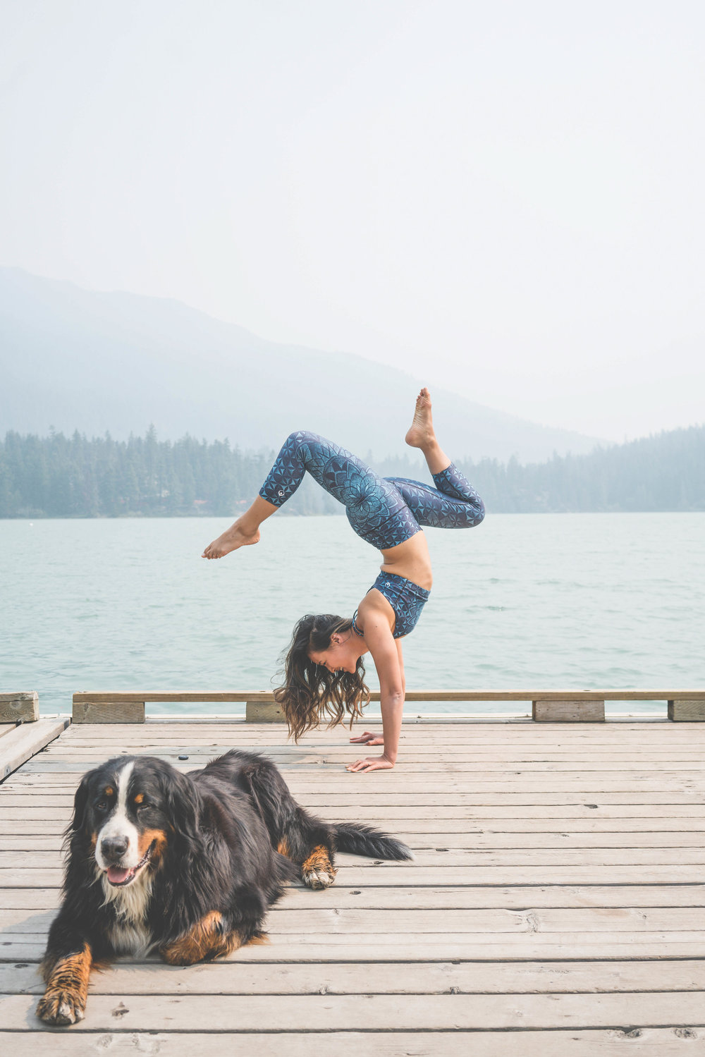 Inner Fire x Cam Lee Yoga x Fitness Model x Vancouver x Whistler x Puppy x Andi Wardrop x Handstand