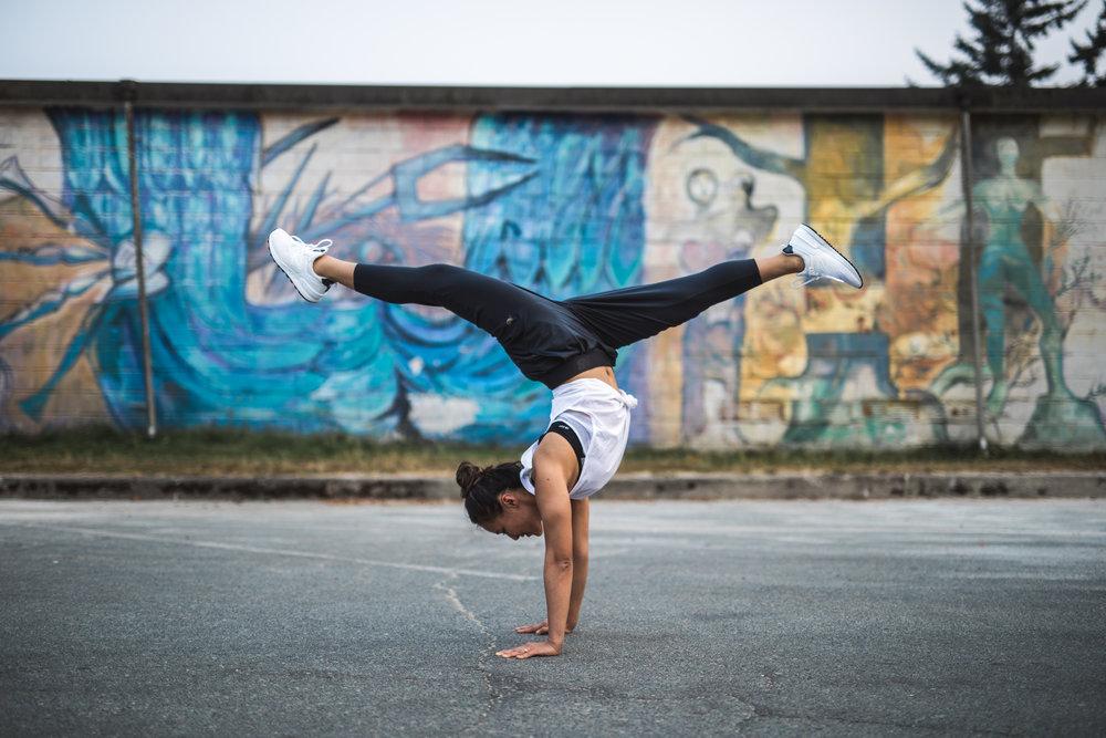 New Balance Vancouver, Canada x Cam Lee Yoga x Handstand x Matt Bourne